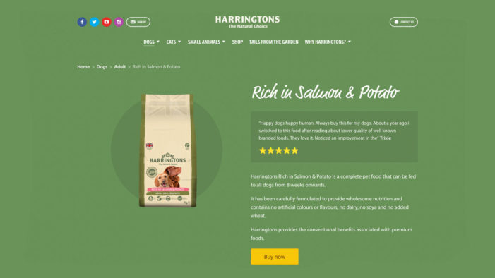 Pet Food Brand Harnesses Shoppable Content to Feed Customer Needs