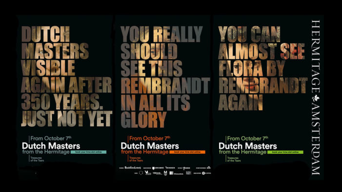 TBWA\UNITED Creates Campaign for The Dutch Masters' Return to Amsterdam after Hundreds of Years in Russia