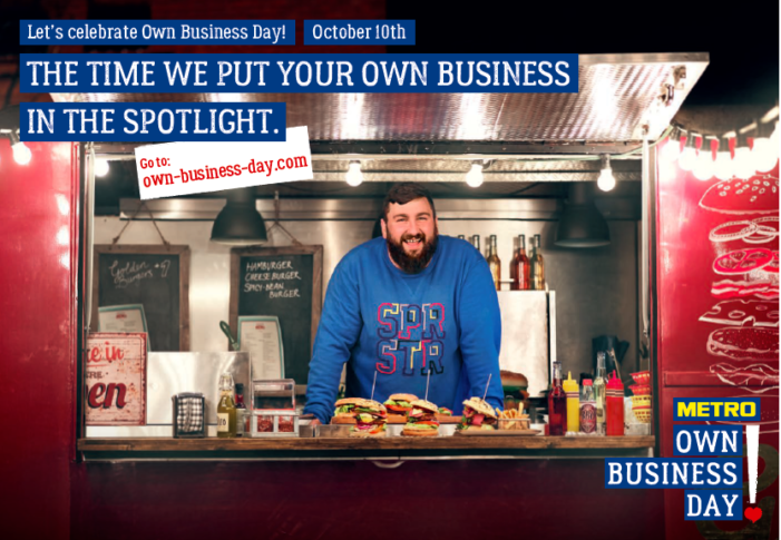 "METRO announces the annual ""Own Business Day"" via Serviceplan"