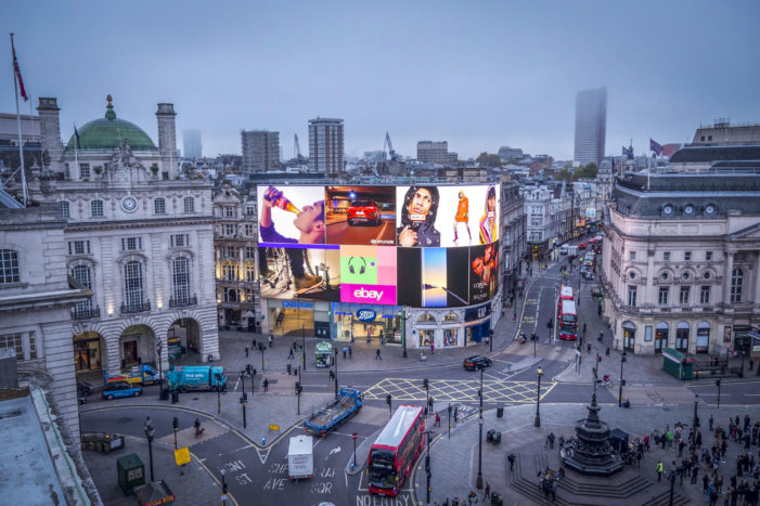 London's Iconic Piccadilly Lights Are Switched Back On