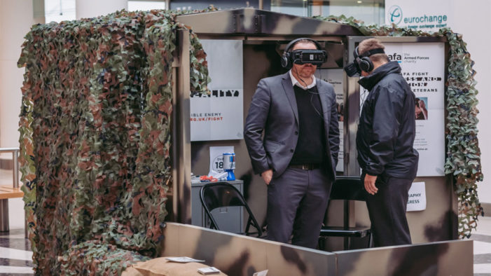 SSAFA VR experience fights 'The Invisible Enemy' of veterans