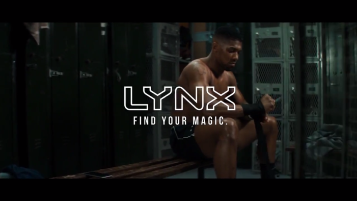 "Anthony Joshua and Lynx team up for ""Forget About Labels""multi-channel campaign created by W"