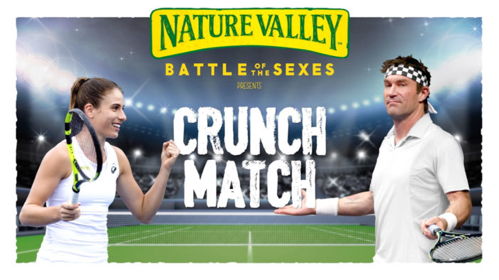 Nature Valley Pays Tribute to 'Battle of the Sexes' to Drive Tennis For Everyone with Westfield Activation