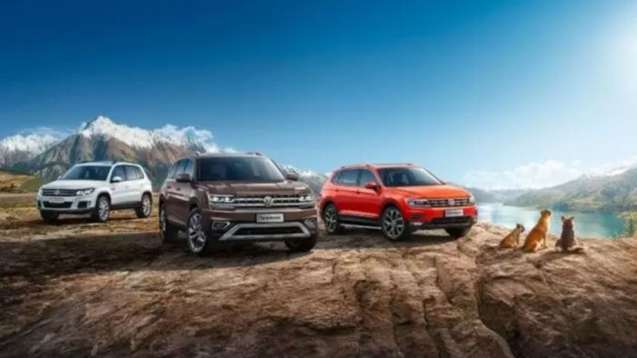 """Five Dogs Star in Saatchi & Saatchi's New """"SUV Family"""" Campaign for SAIC Volkswagen"""
