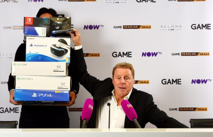 GAME launches new 'Deadline Deals' campaign for Black Friday featuring Harry Redknapp