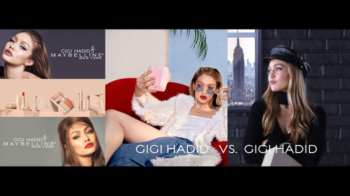 Gigi Hadid graces Piccadilly billboard for historical unveiling of new screens