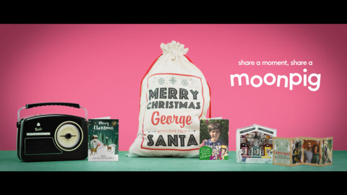 Quiet Storm launches next installment in Moonpig campaign, showing how Christmas can be truly personal