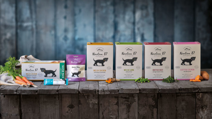 Premium Pet Food Brand Nineteen87 Launches with Design by OurCreative. for Discerning Pet Parents