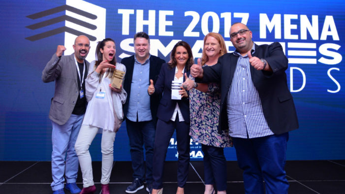 Out There Media expands into the Middle East with Zain partnership and strikes Gold at the MMA Smarties