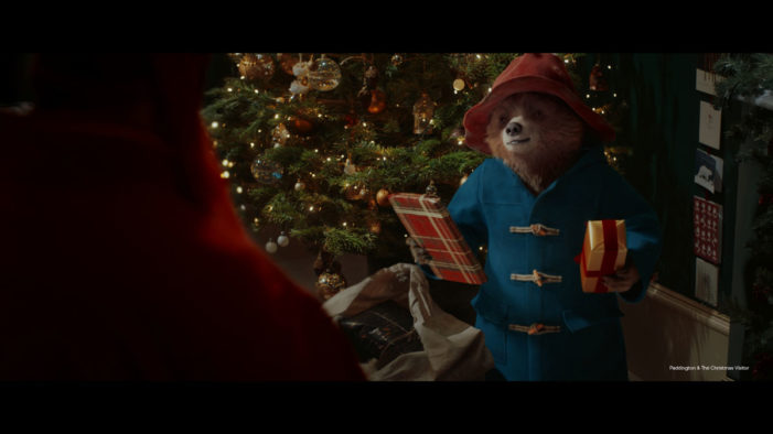 Paddington Stars in Marks & Spencer's #LoveTheBear Festive Campaign