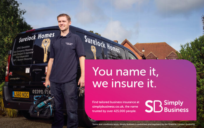 Simply Business Insurance celebrates quirky company names in new campaign from Hometown London