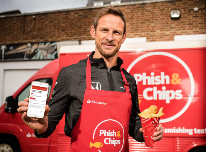 Phish & Chips Please, Jenson Button