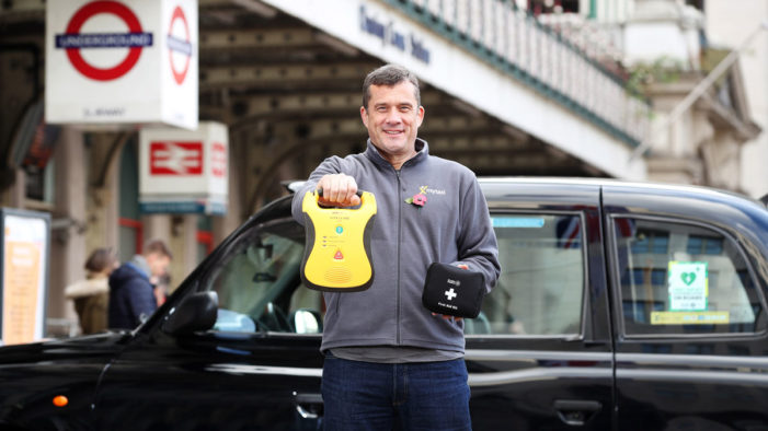 London cabbies to become Capital's new life-savers