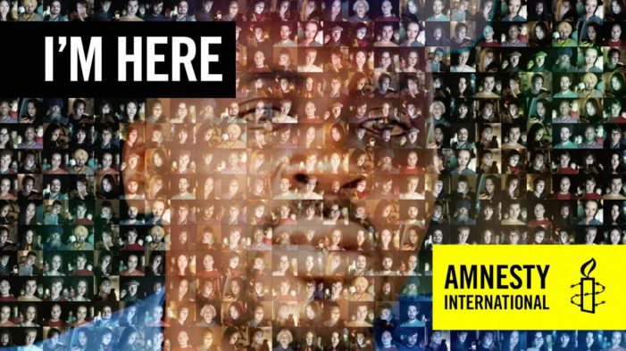 Thousands show their faces for Amnesty's I'M HERE campaign to help free journalist from prison