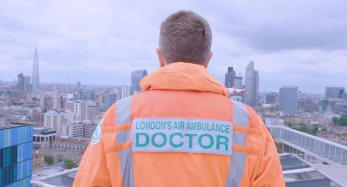 London's Air Ambulance partners with Pearl and Dean for Christmas campaign