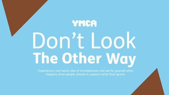 """Southpaw launches """"Don't look the other way"""" Christmas campaign for YMCA"""