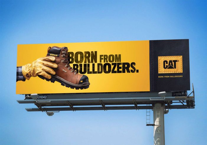 "Young & Laramore unveils ""Born from Bulldozers"" campaign for Cat Footwear"