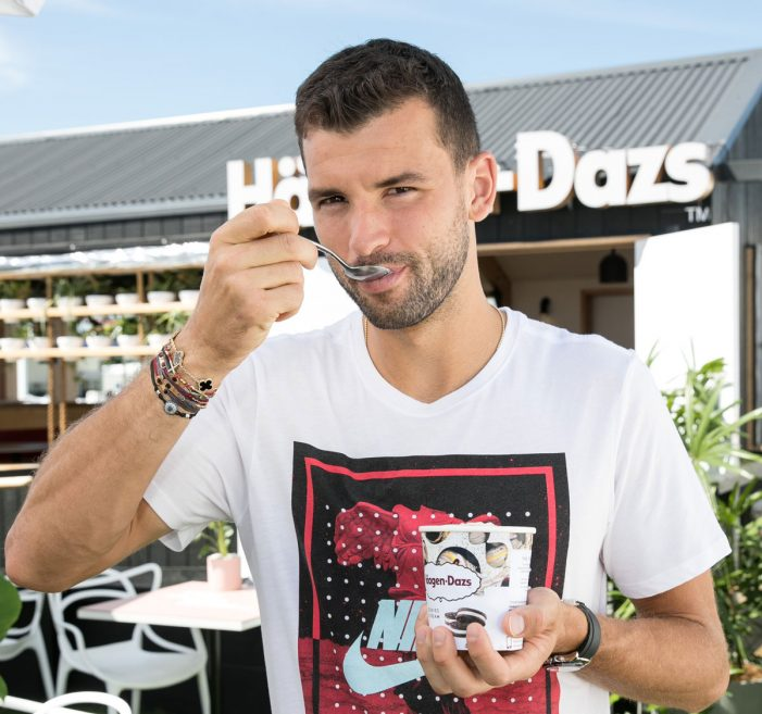 Tennis Ace Grigor Dimitrov Comes on Board as Häagen-Dazs Global Ambassador