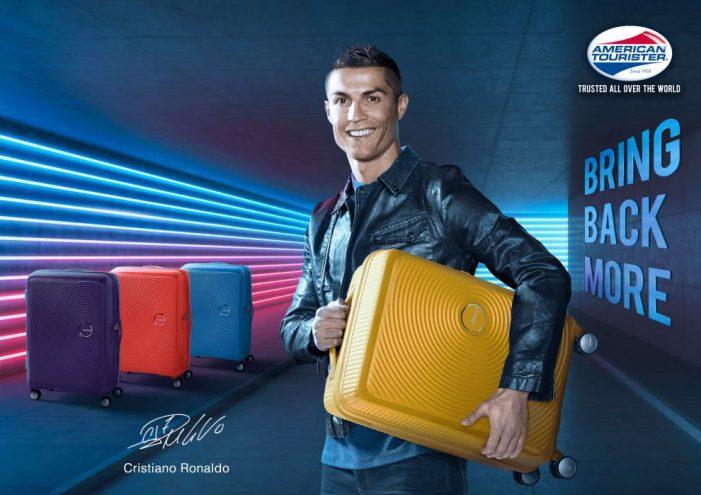 American Tourister announces football superstar Cristiano Ronaldo as its 2018 Brand Ambassador