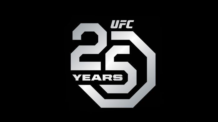 Droga5 unveils UFC's 25th anniversary logo