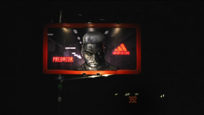 Adidas India creates 3D face of Paul Pogba for latest OOH campaign