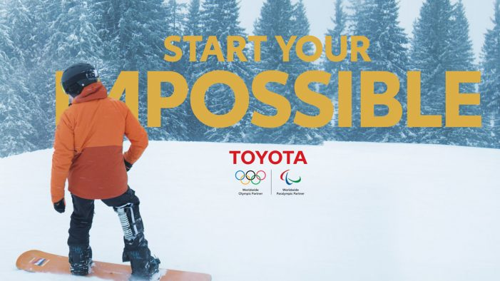 Toyota puts Paralympic snowboarder in the spotlight with 'Start Your Impossible' campaign