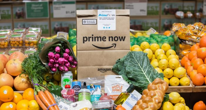 Amazon starts delivering Whole Foods groceries via Prime Now