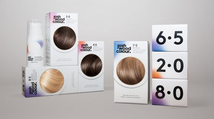 Pearlfisher Brands Josh Wood's New Home Hair Colour System