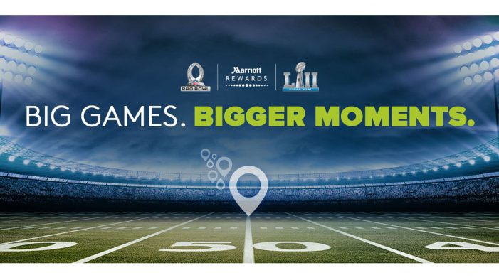 Marriott Rewards kick-off 3,000,000 points giveaway in the lead up to Super Bowl LII