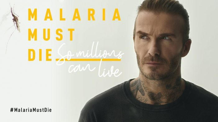 "New campaign sees David Beckham ""Under Attack"" from a swarm of mosquitoes"