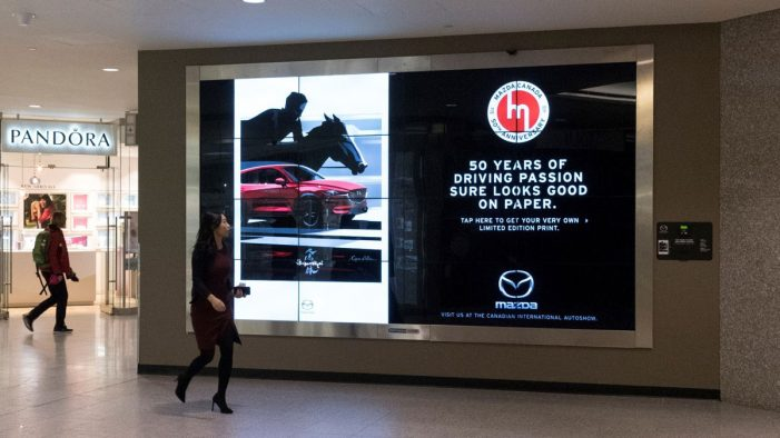 PATTISON Outdoor, Fourthwall and JWT Celebrate Mazda Canada's 50th with Digital Storefront
