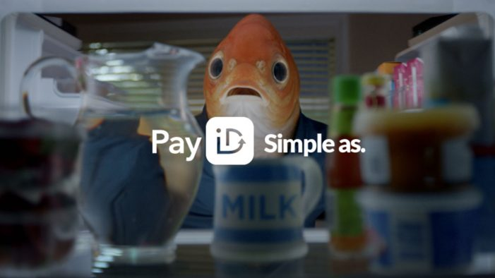 Fish-Headed Man Launches Pay ID's Inaugural Campaign by Mr. Wolf