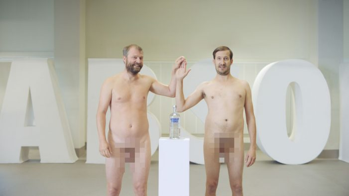 Absolut Employees Bare All to Show it Really is 'the Vodka with Nothing to Hide'