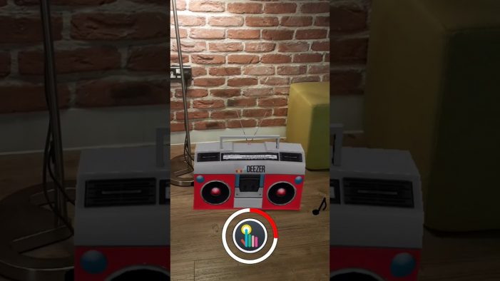 Deezer launches first ever AR 'boombox' advert to engage millennial music audience