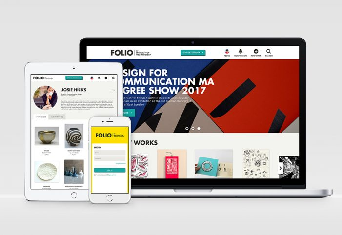 Start and the University of Westminster launch FOLIO, a new publishing platform for junior designers