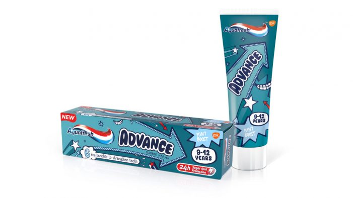 GSK advances its Aquafresh Kids range to provide expert care for 9-12-year olds