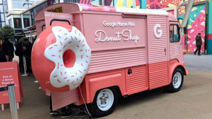 Google Mini Donut Shop pop-up tour comes to London