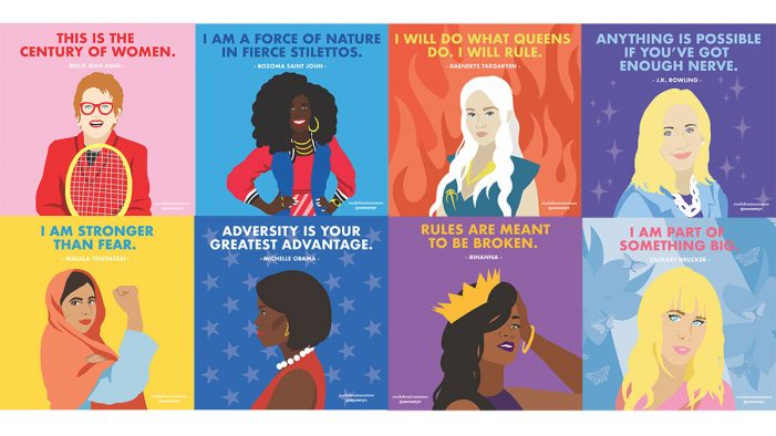 Sense unveils striking art to #CelebrateWomen on International Women's Day
