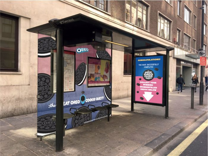Mondelēz International Dispenses Oreos from Interactive OOH Game in 'The Great Oreo Cookie Quest'