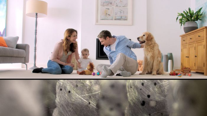 bigdog creates TV spot for new Vax product launch