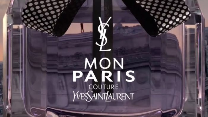 BETC Luxe & General POP sign the new Mon Paris couture campaign for Yves Saint Laurent Beauté