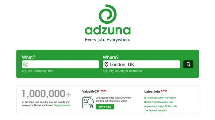 Startup job search engine Adzuna wins contract for Universal Jobmatch service