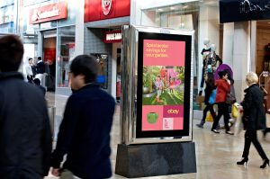 Ebay Gets Tactical With Weather Driven Dooh Spring Campaign In The Uk Marketing Communication News