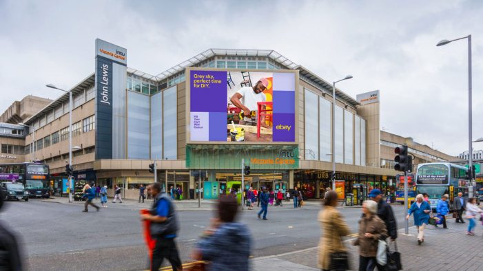 ebay Gets Tactical with Weather-Driven DOOH Spring Campaign in the UK