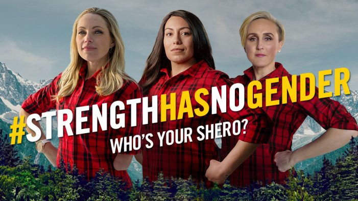Cutwater help bring back Brawny's #StrengthHasNoGender campaign in 2018