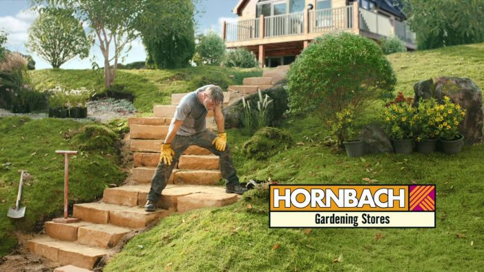 HORNBACH heralds the start of spring with 'Sweat it Out' campaign by HEIMAT