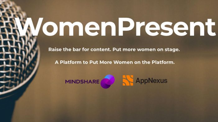 Mindshare UK joins WomenPresent and pledges to put more women on stage