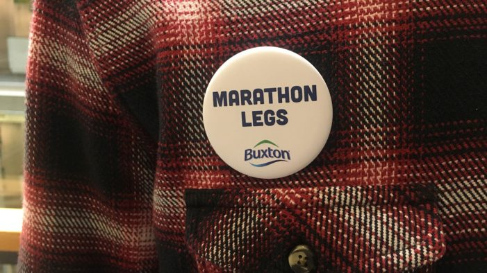 Buxton Creates Commuter Badges to Support Virgin Money London Marathon Runners