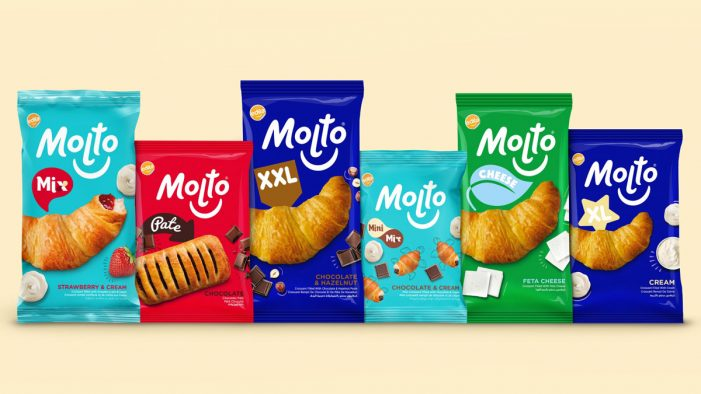 Parker Williams Redesigns Egypt's Famous Snacking Brand Molto