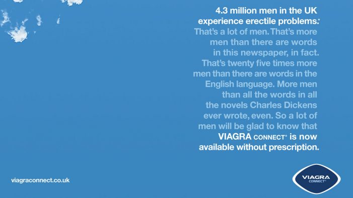 WPP Team led by Y&R London launches Pfizer's Viagra Connect, tackling decades of stigma and stereotype